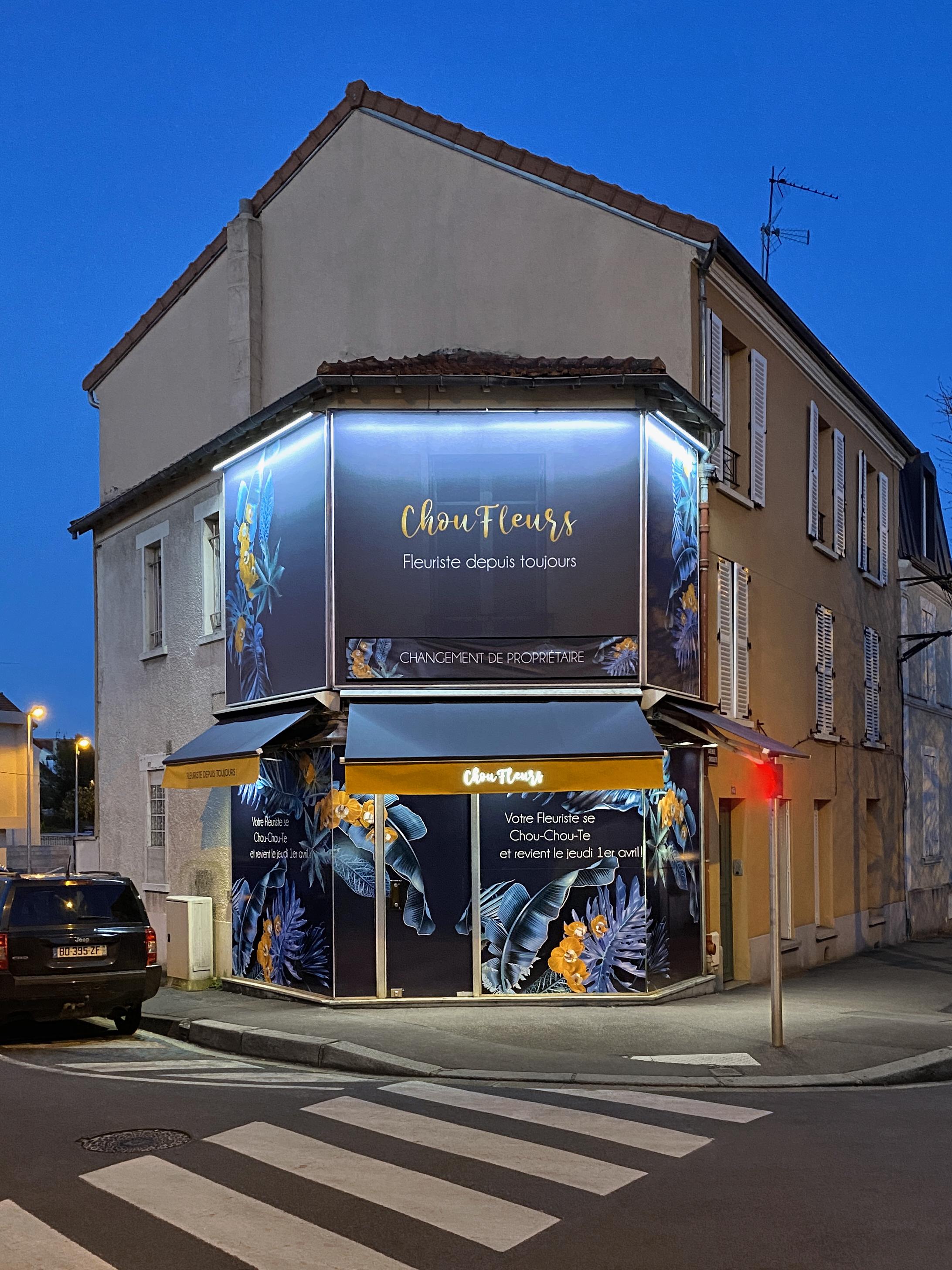 Boutique Choufleurs fleuriste au Perreux-sur-marne